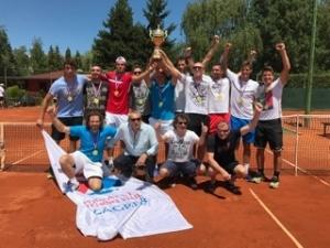 Proslava naslova Prve Hrvatske lige (seniori) 2017