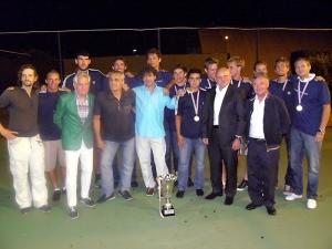 Proslava naslova momčadskog prvaka Hrvatske (srpanj 2011. godine)