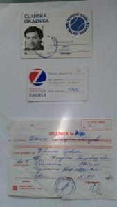 Vjekoslav Dežmar jedan je od naših najstarijih članova